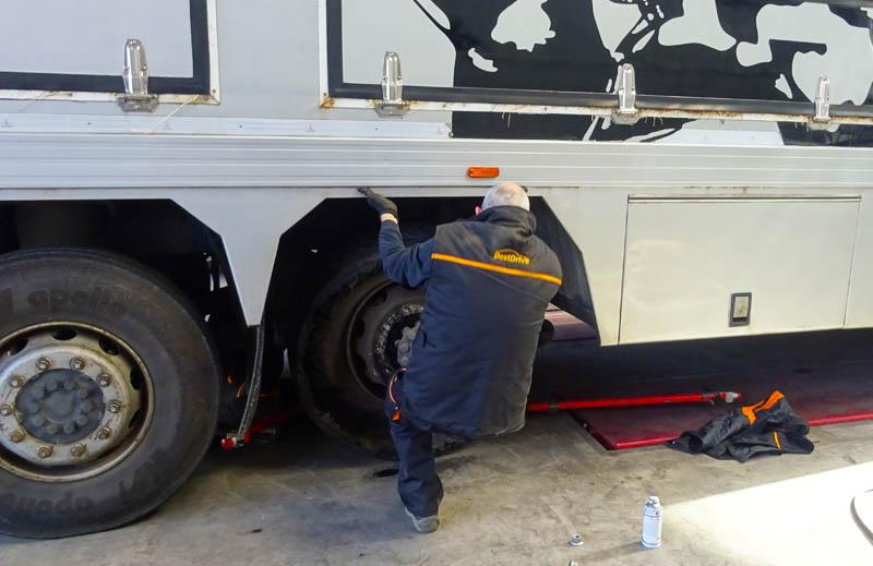 Mecanico de camion