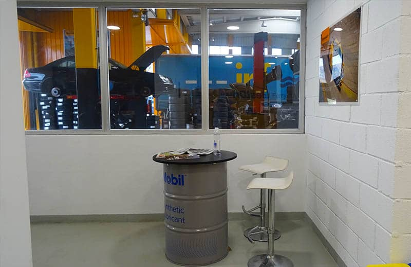 Sala de clientes - Neumaticos irun