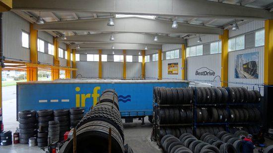 taller de camiones